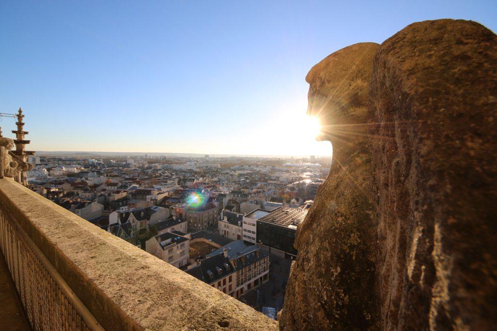 Tours de la Cathédrale de Reims.
