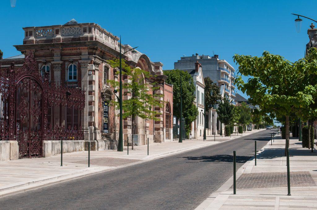 Avenue de Champagne. Epernay.